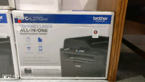 Brother MFCL2710DW Wireless Monochrome Printer,Scanner,Copie,Fax