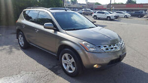 2004 Nissan Murano SL SUV, Crossover 3995.00 with warranty power