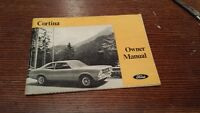 '72 Ford Cortina Owners Manual