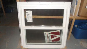 Vinyl window  fits 32X32 and larger opening