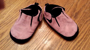 Pink Suede Shoes Peterborough Peterborough Area image 1