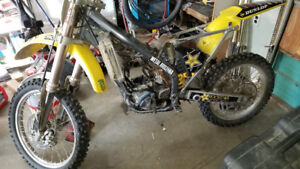 Parting Out 2004 RMZ250