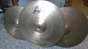 2 Cymbals and case Sabian, Dream, good condition