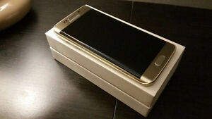 GOLD SAMSUNG GALAXY S6 edge- UNLOCKED - in box - BUY OR TRADE