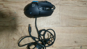Logitech Blue Gaming Mouse