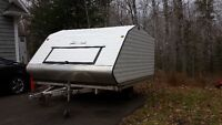 Snow pro clam shell trailer 10ft