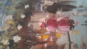 1920's canvas oil painting London Ontario image 3