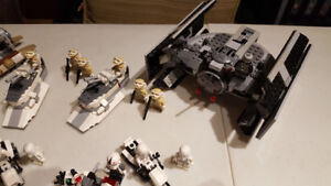Bunch of Star Wars Lego sets for sale