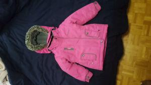 Osh Kosh girls jacket size 2t