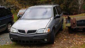 2001 Pontiac Trans Sport Minivan, Van