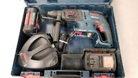 36V Bosch SDS+ Rotary Hammer Drill Set