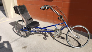 Rans Stratus xp Recumbent Bike