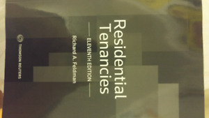 Residential Tanancies Eleventh Edition