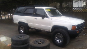 1988 Toyota 4runner removable hard top