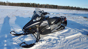 2014 Arctic Cat 800 XF Crosstour with removable 2 up seat