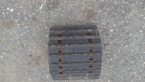 121 inch track for snowmobile in good condition