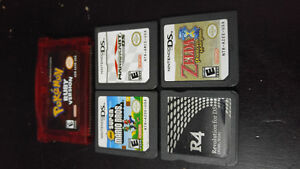 Nintendo gameboy advance and ds games