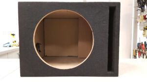 "12"" Ported Car Sub Box"