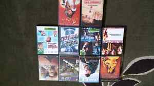 Various movies DVDs