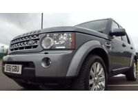 Land Rover Discovery DISCOVERY 4 TDV6 HSE Good / Bad Credit Car Finance (grey) 2014