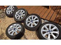 5x fiesta wheels