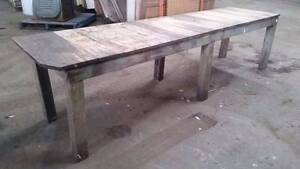 Extra Long Dining Table - Perfect for a Cafe - Oak Geelong Geelong City Preview