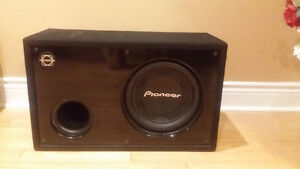 "Pioneer Sub - 12"" with Box"