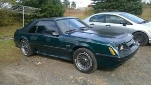 86 ford Mustang 5.0