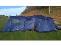 Vango Kasari 600 6 man family tent