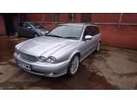 2007 / 57 Jaguar X-Type 2.2 D Sovereign 5 Door Estate Full MOT+Full Leather+Imma