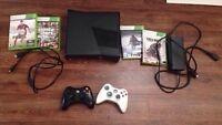 Xbox 360 slim 320go avec 4 jeux