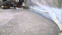 FLOOR - REMOVAL , GRINDING , LEVELING
