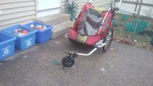 Ride n Stride by Instep Bicycle  Trailer