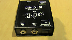 Rapco Di Box / Rapco DB-101 SL Direct Box