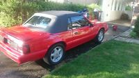 Ford mustang 5.0 Litres LX convertible