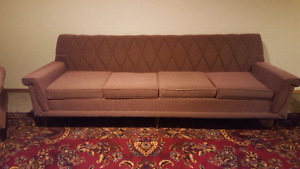 Vintage couch and chair. Price reduced