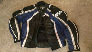 Joe Rocket motorcycle leather jacket Kitchener / Waterloo Kitchener Area image 1