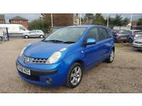 2006 Nissan Note 16v SVE 2 Owners Low Miles Bargain