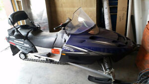 Super Deal on sled and trailer