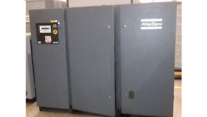 Atlas Copco GA 110 - 150 HP Compressor MINT Shape