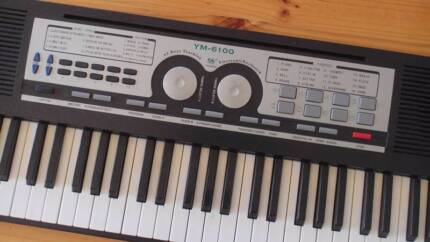 YM 6100 Electronic Keyboard City North Canberra Preview