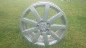 "Audi Factory Nine Spoke 17"" Alluminum Wheels A1 (4)"