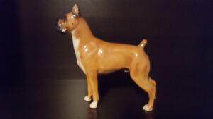 Royal doulton boxer dog figurine