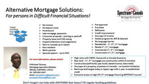 Alternative Mortgages for Difficult Financial Situations