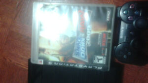 Ps3 game console,8 games,2 controllers and connections  $100