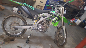2005 kawasaki kx250f with ownership