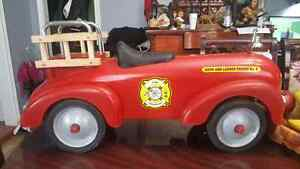 Fire Truck Engine push car toddlers size