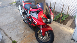 Cbr929rr new tires and parts