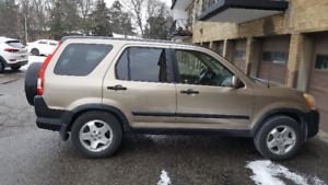 2005 Honda CRV Certified with winter tires installed