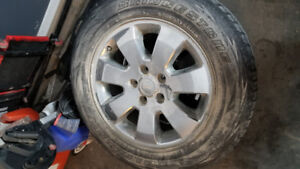 18 inch jeep rims and sensors